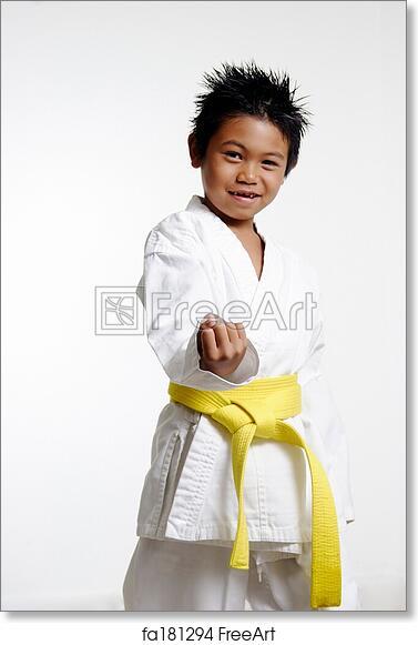 Free Art Print Of Karate Stance Freeart Fa181294