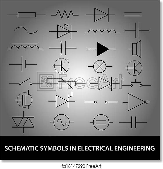 Engineering Schematic Symbols Explained Wiring Diagrams