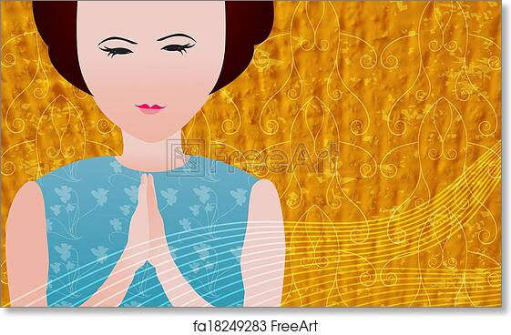 Free art print of Praying - facebook timeline