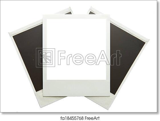 Free art print of Polaroid frame. Three Polaroid frames | FreeArt ...