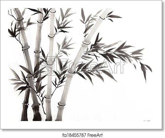 Free art print of Traditional Chinese painting ,bamboo ...