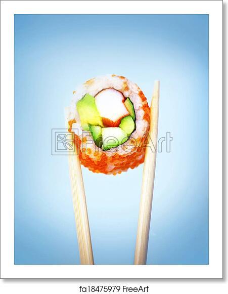 Free Art Print Of Sushi