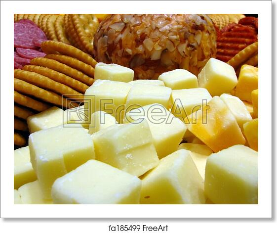 Free art print of Cheese Tray