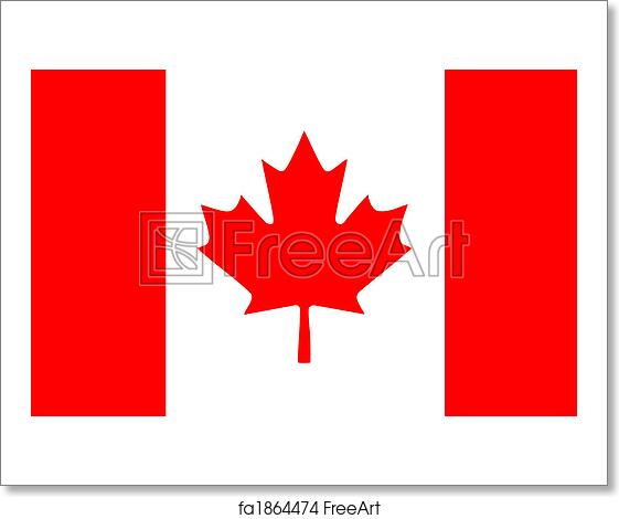 Free Art Print Of Canadian Flag