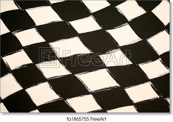 graphic relating to Checkered Flag Printable named Totally free artwork print of Checkered Flag