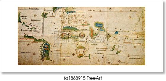 Free Art Print Of Medieval Map Of The World Medieval Map Of The