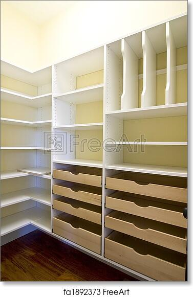 empty walk in closet. Free Art Print Of Empty Walk-in Closet Empty Walk In