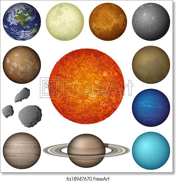 Printable pictures of planets in solar system