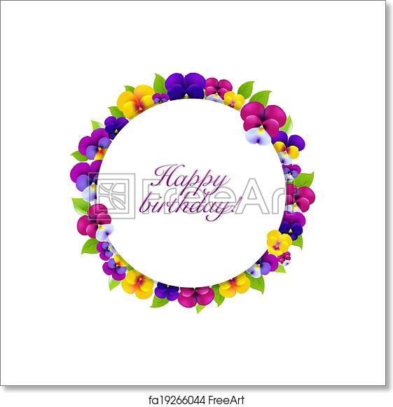 Free art print of Flowers Banner. Flowers Banner, With ...