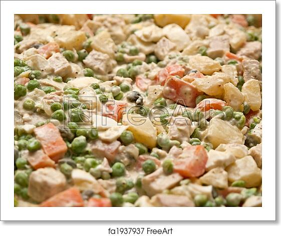 Free Art Print Of Typical Traditional German Potato Salad Typical
