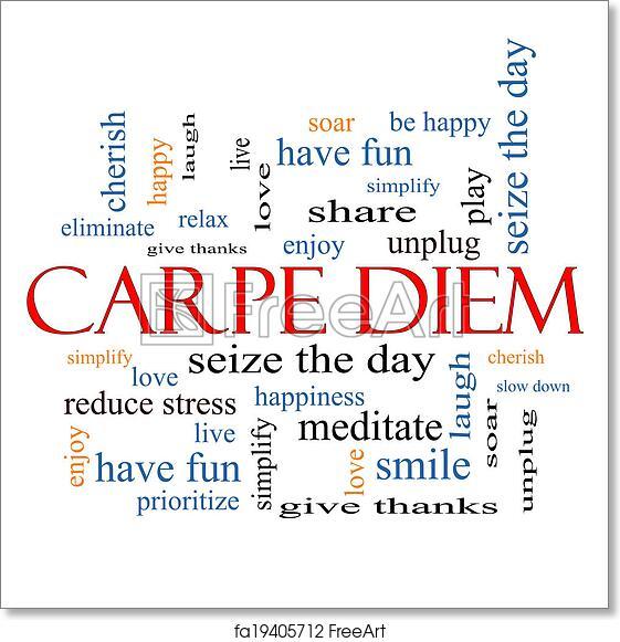 Carpe Diem INTERNATIONAL ORDERS