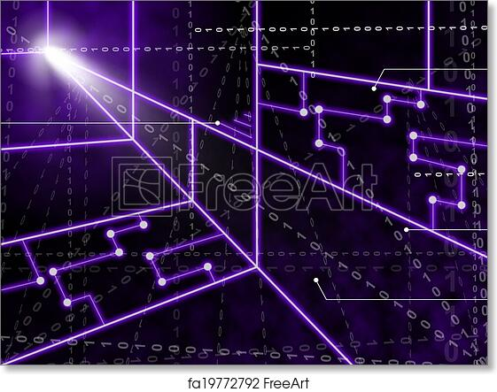 circuit diagram wallpaper free art print of laser circuit background showing bright energy  art print of laser circuit background