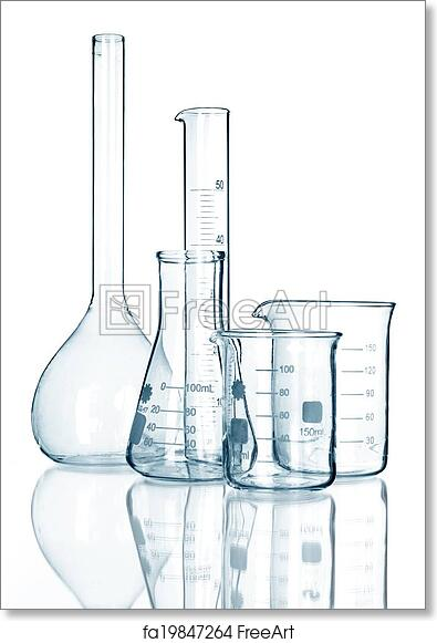 photograph regarding Printable Glassware titled Totally free artwork print of Laboratory glware