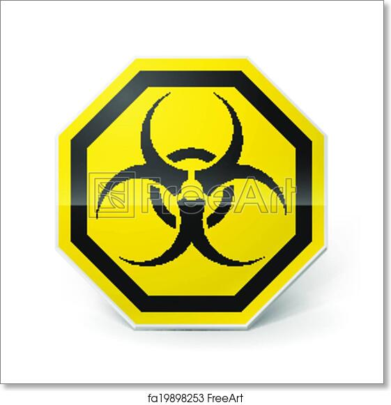 image relating to Biohazard Sign Printable named Totally free artwork print of Biohazard signal