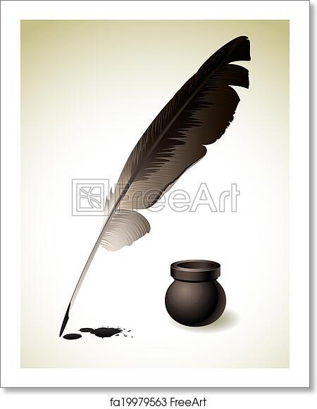 Free art print of Quill Pen