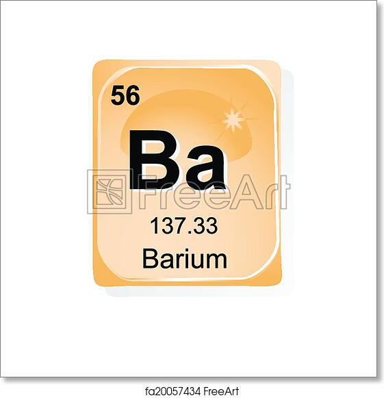 Free Art Print Of Barium Chemical Element Barium Chemical Element
