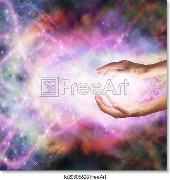 Free Art Print Of Magical Healing Energy