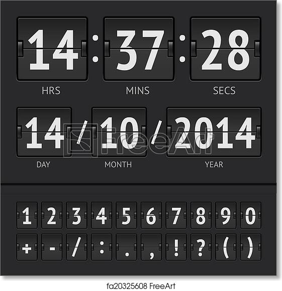 Free art print of Countdown timer