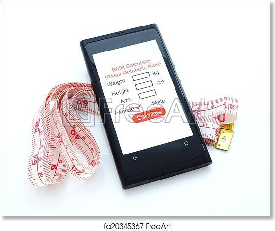 Free Art Print Of Basal Metabolic Rate Calculator Bmr Smartphone
