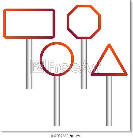 image about Printable Road Signs identified as Totally free artwork print of Street symptoms