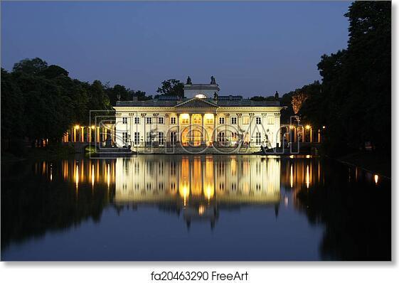 Lazienki Park Palace