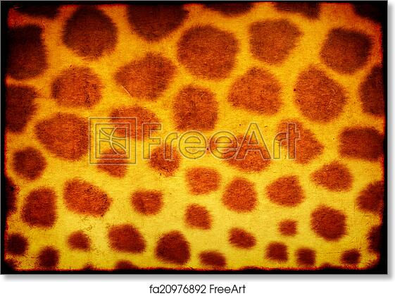 image relating to Printable Pattern Paper titled No cost artwork print of Texture of paper with animal pores and skin habit
