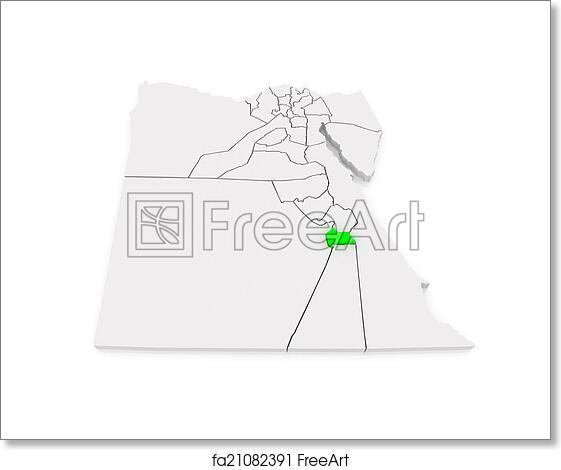 Free Art Print Of Map Of Luxor Egypt Map Of Luxor Egypt 3d