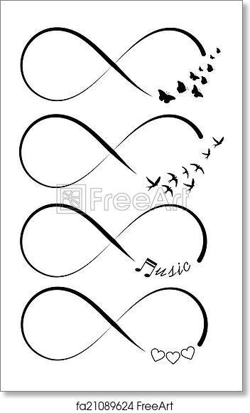 Free Art Print Of Infinity Symbols