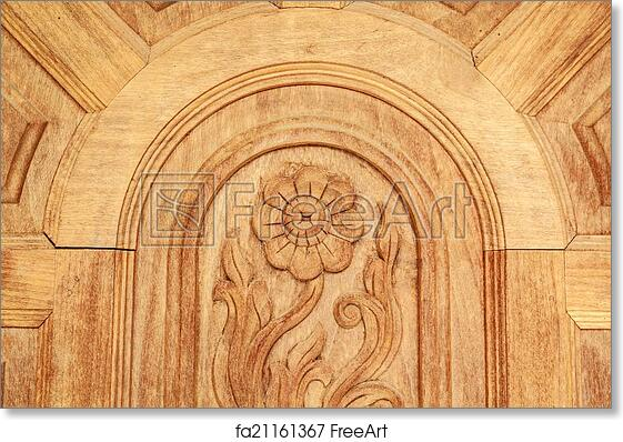 graphic relating to Printable Wood Carving Patterns known as No cost artwork print of Wooden Carving