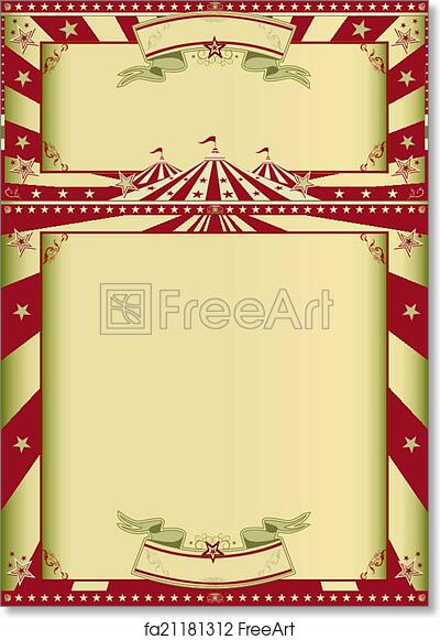graphic about Free Printable Vintage Posters referred to as No cost artwork print of Typical circus exhibit