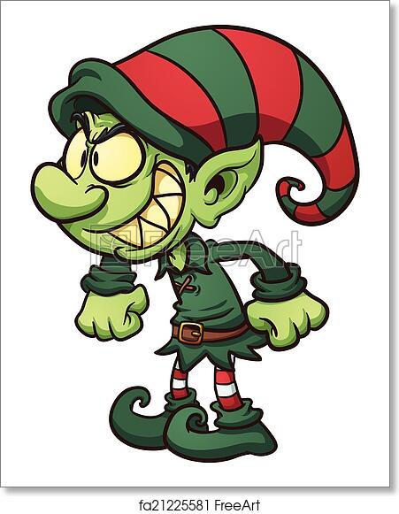 Evil Christmas.Free Art Print Of Evil Christmas Elf