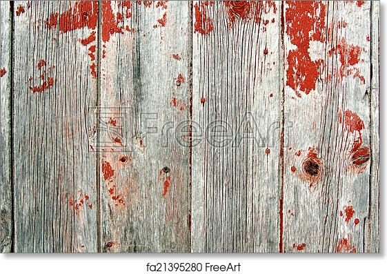 Free Art Print Of Red Rustic Barn Wood Background A Background Of