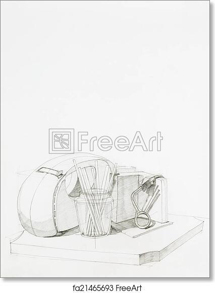 Free Art Print Of Kitchen Utensils