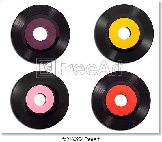 photograph about Printable Record Labels called Free of charge artwork print of Basic Heritage Als
