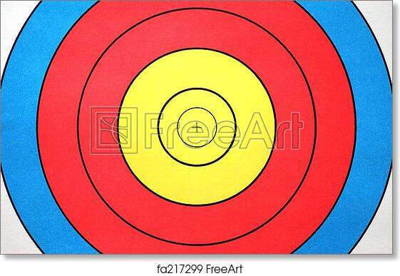 graphic about Printable Archery Targets titled Totally free artwork print of Arechery trget experience