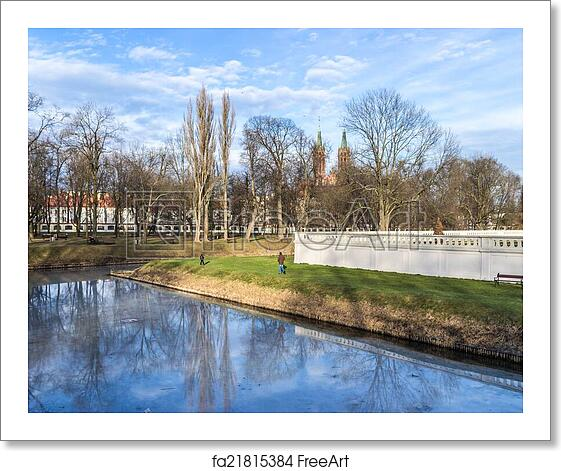 Free art print of Gardens of the palace Branicki in Bialystok, Poland
