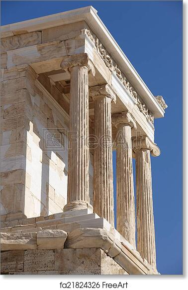 Free Art Print Of Acropolis Of Athens Temple Of Athena Nike Greece