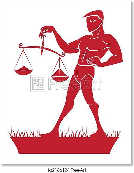 Free art print of Libra Zodiac/Horoscope Symbol