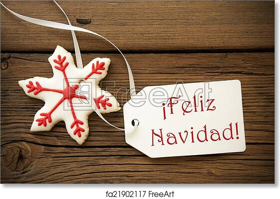 Christmas Wishes In Spanish.Free Art Print Of Feliz Navidad Spanish Christmas Greetings