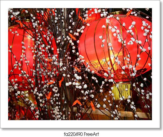 Free Art Print Of Chinese Lantern Chinese New Year Lantern