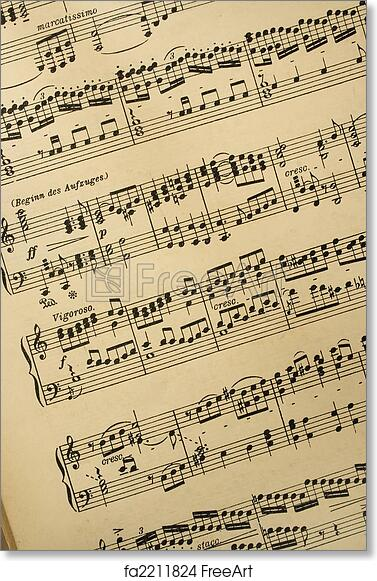 image about Printable Music Notation identify Free of charge artwork print of Songs notation