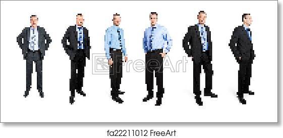 Business Man Fantasy Art