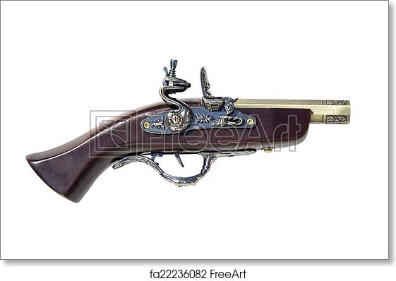 Free art print of Old musket gun  copy