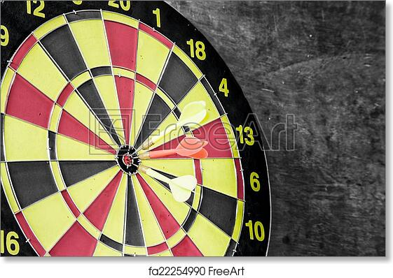 Background of darts