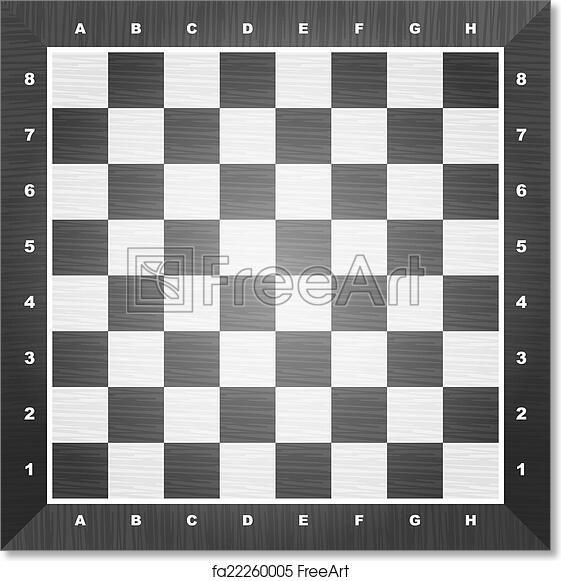 photograph relating to Chess Board Printable called Totally free artwork print of Vacant chess board