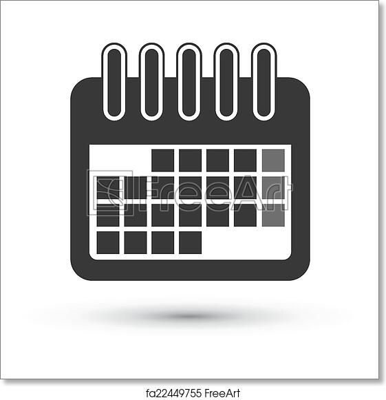Free art print of Calendar Icon