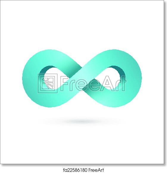 Free Art Print Of Infinity Loop Symbol Logo Icon Design Template