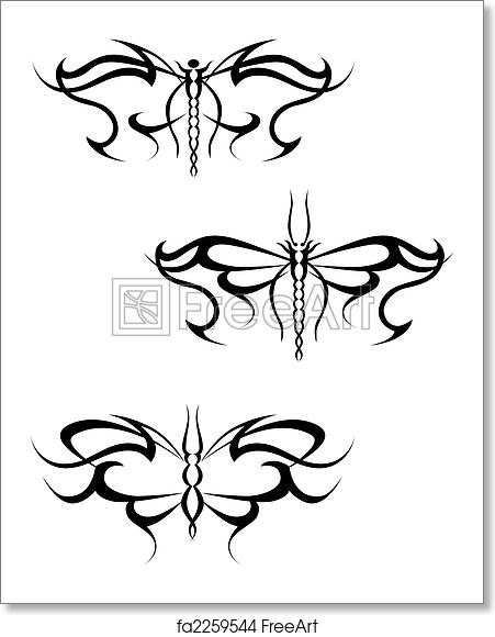 Free Art Print Of Butterfly Tattoo