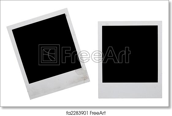 Free art print of Polaroid frames. Polaroid frames isolated on white ...