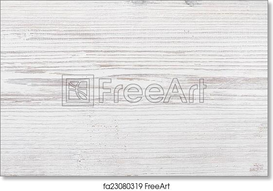 Free Art Print Of Wooden Texture, White Wood Background   FreeArt    Fa23080319